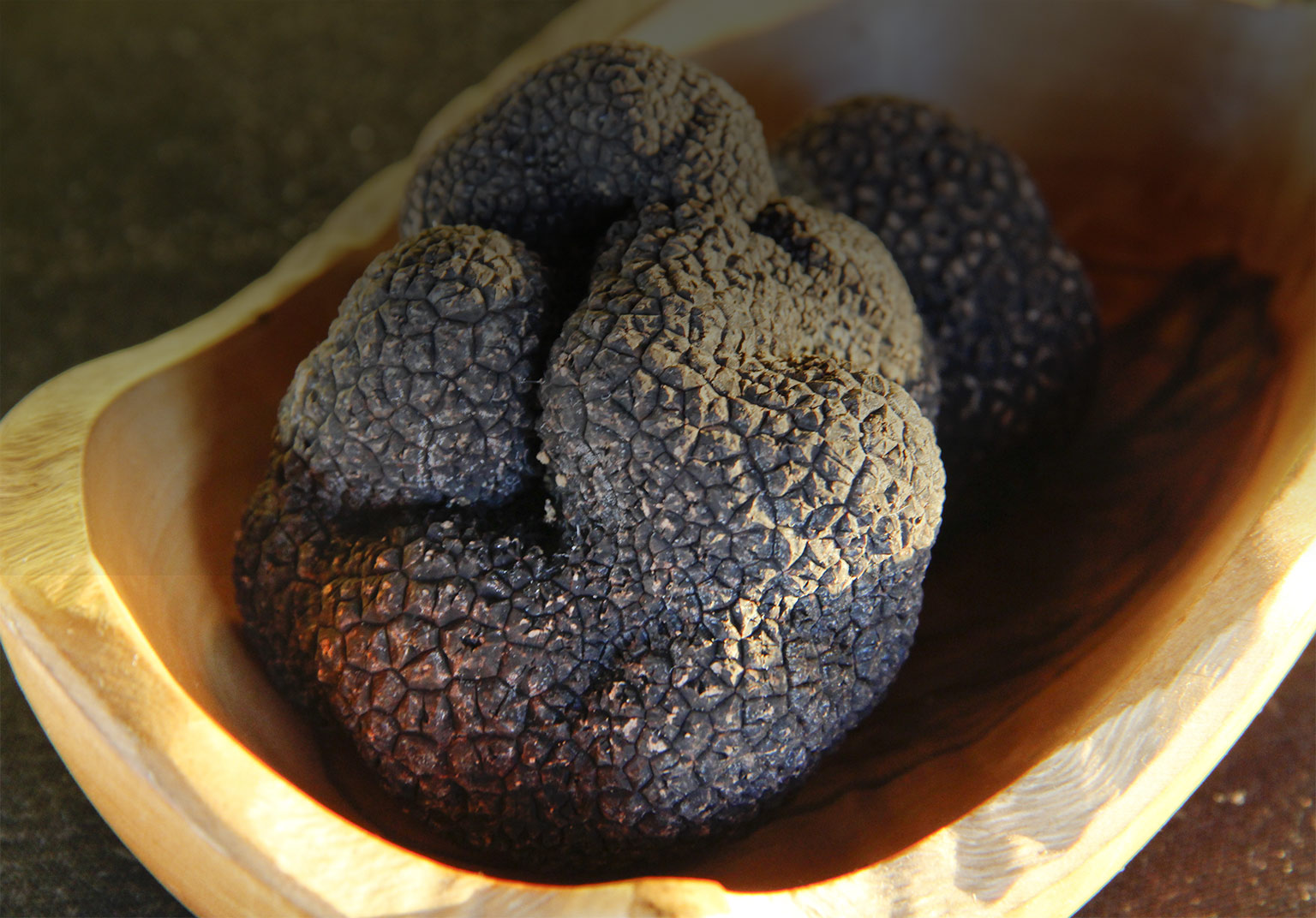 Truffles in a bowl (gallery slide)