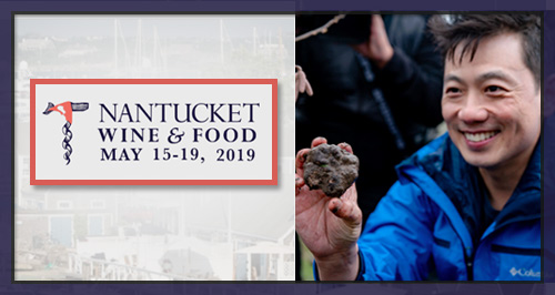 Join Robert Chang at the Nantucket Wine & Food Festival